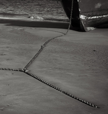 Anchor Chains, Aberdyfi, Wales, 2013
